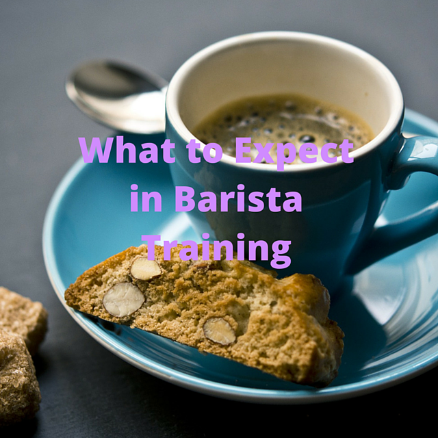 what to expect in barista training